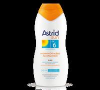 ASTRID SUN ASTRID SUN Hydratačné mlieko na opaľovanie OF 6