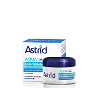 ASTRID MOISTURE TIME Protecting and 24H Moisturizing Day and Night cream