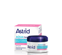 ASTRID MOISTURE TIME Softening and 24H Moisturizing Day and Night cream