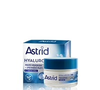 ASTRID HYALURON PLUS Antiwrinkle and Firming Night Cream