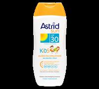 ASTRID SUN Detské mlieko na opaľovanie OF 30